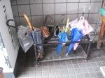 Umbrellas in Takayama Station